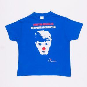 Audrey - Camiseta Azul MArino