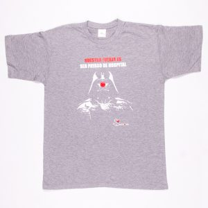 Darth Vader Camiseta Gris Claro