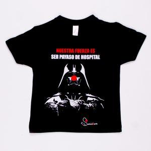 Darth Vader - Camiseta de niño negra