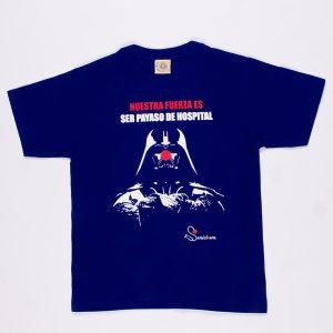 Darth Vader - Camiseta azul oscuro