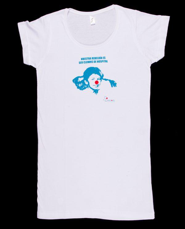 Camiseta Pippi Calzaslargas Tipo Vestido