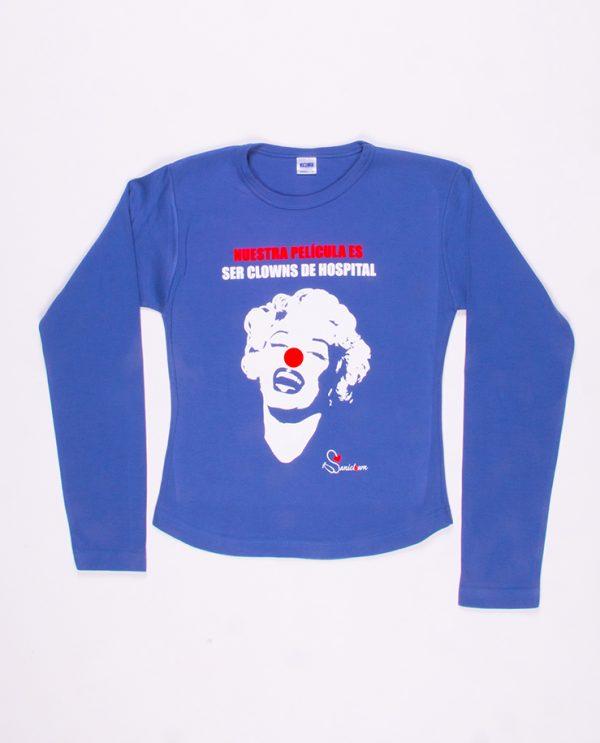 Marilyn - Sudadera Azul
