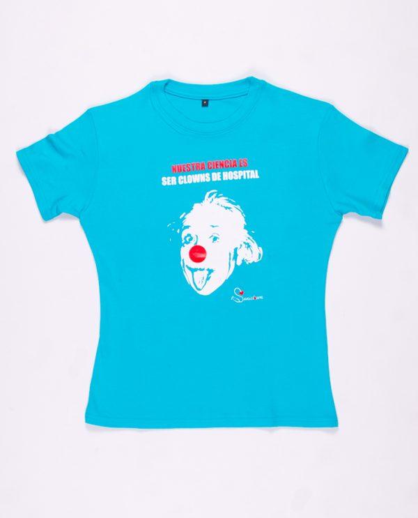 Einstein - Camiseta Turquesa