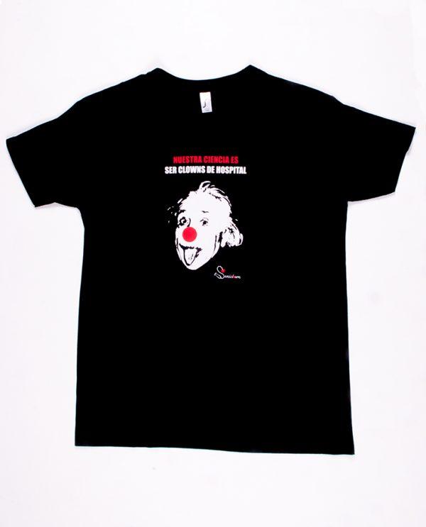 Einstein - Camiseta Negra